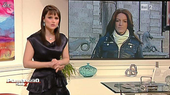 Lorena Bianchetti dans Dillo à Lorena. Diffusé à la télévision le 08/02/11.