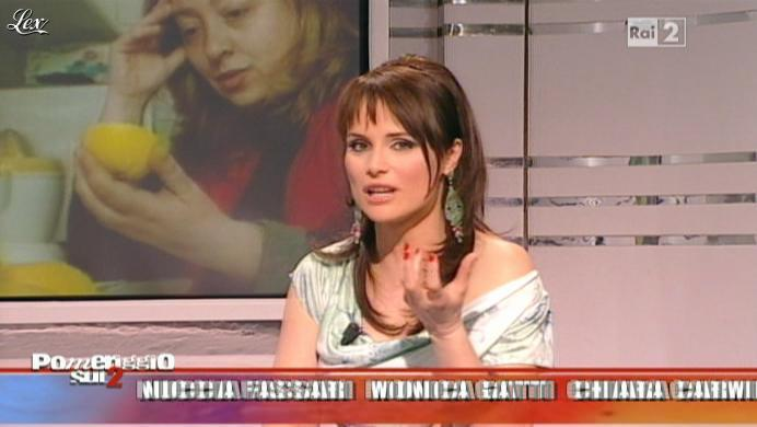 Lorena Bianchetti dans Dillo à Lorena. Diffusé à la télévision le 11/05/11.