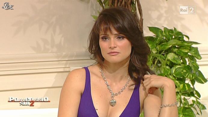 Lorena Bianchetti dans Dillo à Lorena. Diffusé à la télévision le 13/10/10.