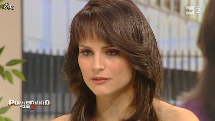 Lorena Bianchetti dans Dillo à Lorena. Diffusé à la télévision le 15/11/10.
