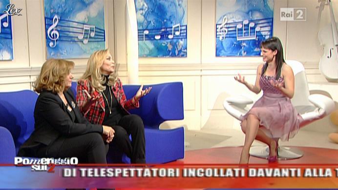 Lorena Bianchetti dans Dillo à Lorena. Diffusé à la télévision le 16/02/11.