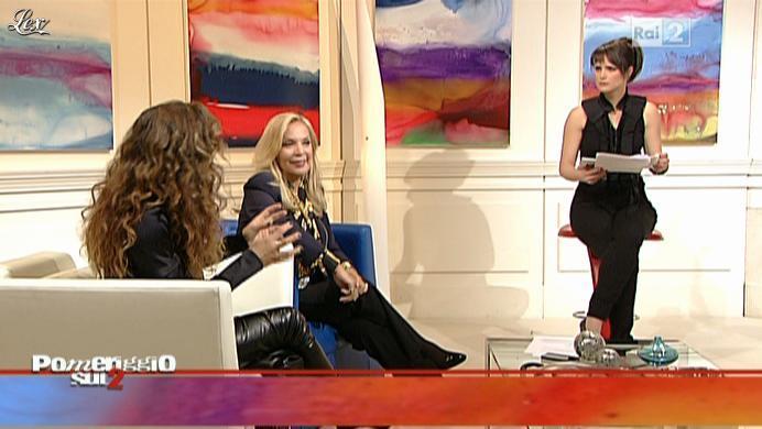Lorena Bianchetti dans Dillo à Lorena. Diffusé à la télévision le 17/01/11.