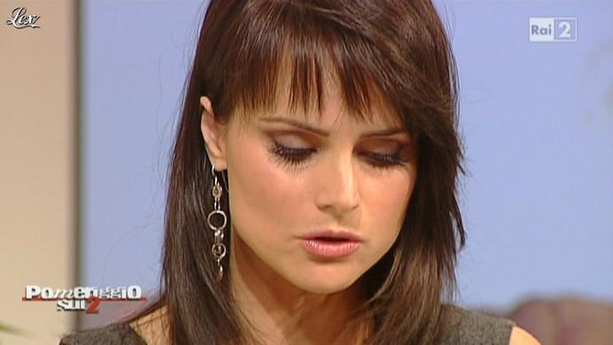 Lorena Bianchetti dans Dillo à Lorena. Diffusé à la télévision le 18/10/10.