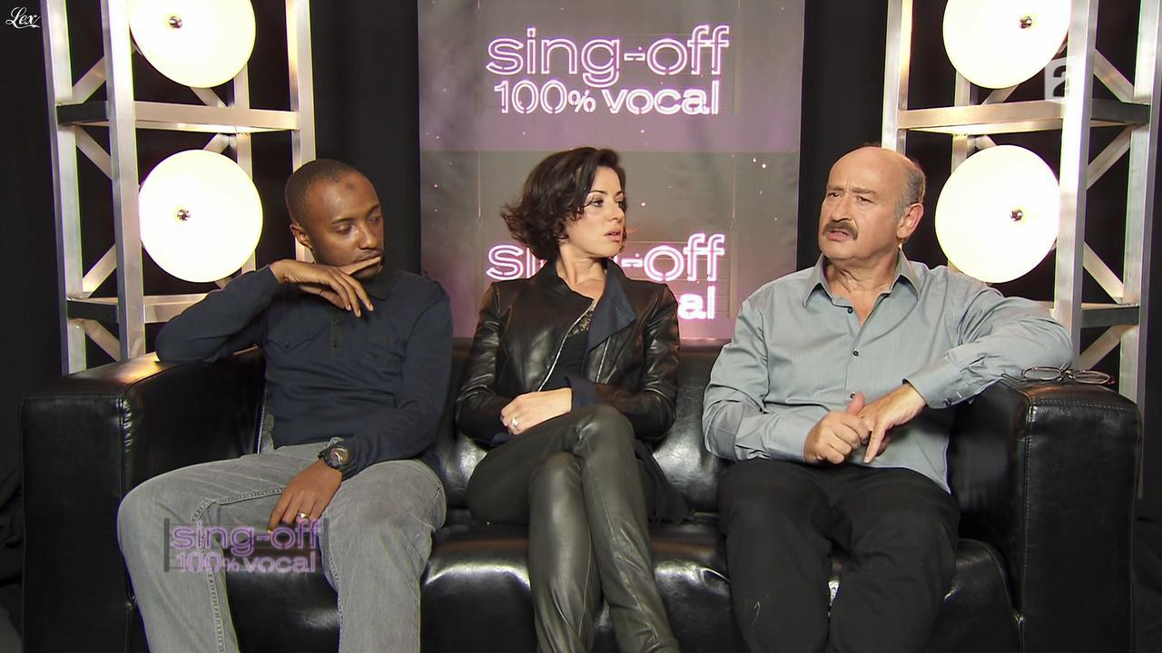 Tina Arena dans Sing Off. Diffusé à la télévision le 08/10/11.