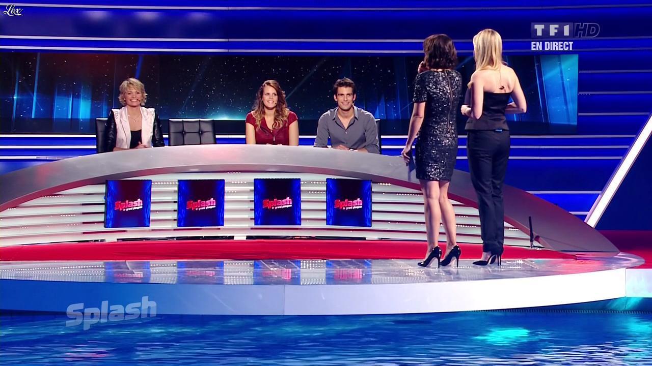 Estelle Denis et Muriel Hermine dans Splash. Diffusé à la télévision le 15/02/13.