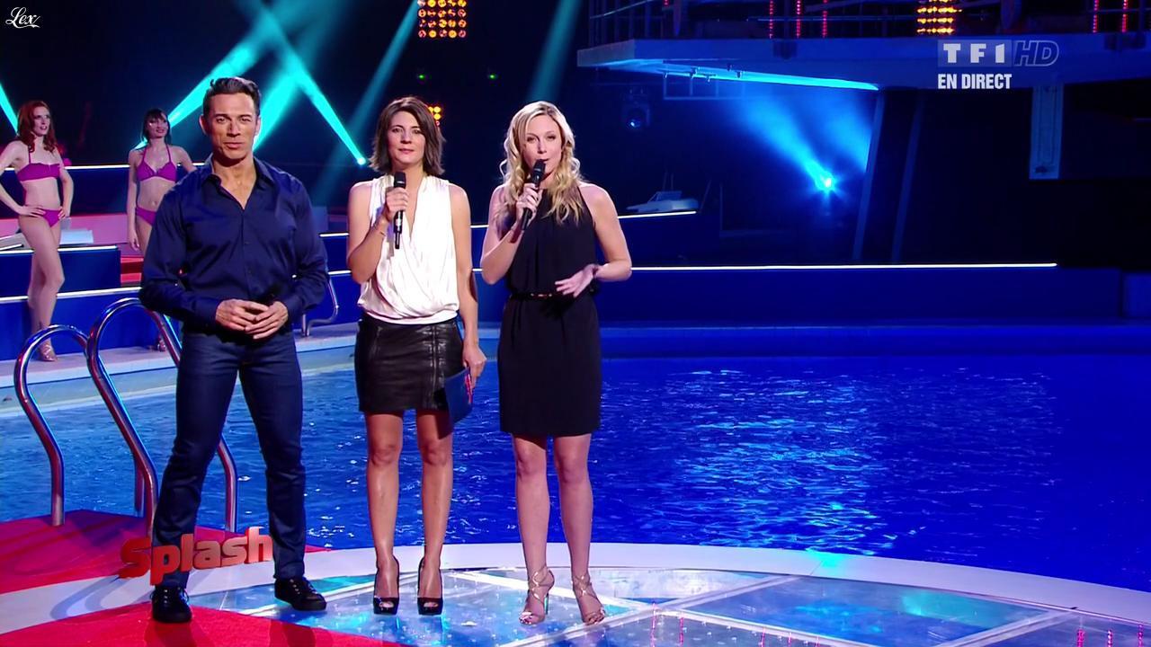 Estelle Denis dans Splash. Diffusé à la télévision le 08/02/13.