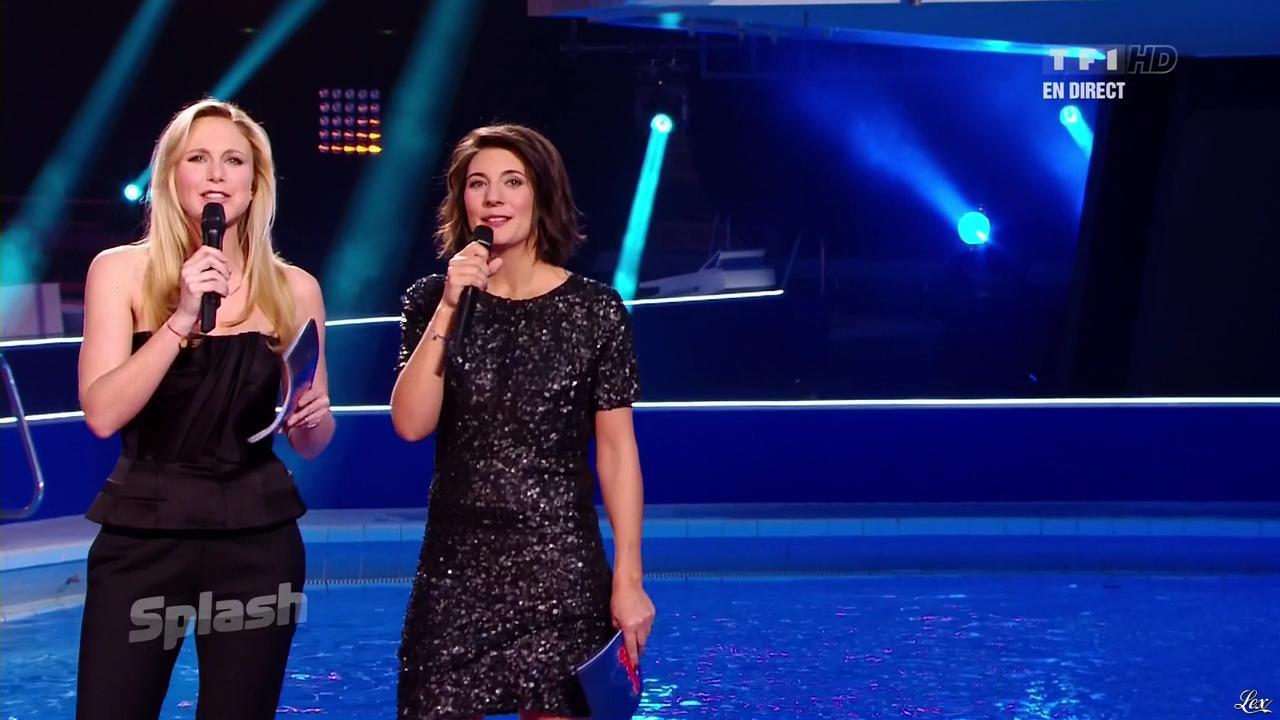 Estelle Denis dans Splash. Diffusé à la télévision le 15/02/13.
