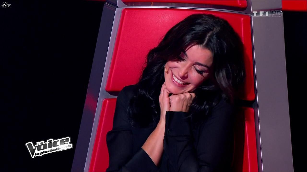 Jenifer Bartoli dans The Voice. Diffusé à la télévision le 02/03/13.