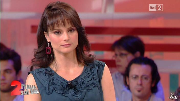 Lorena Bianchetti dans Italia Sul Due. Diffusé à la télévision le 28/09/11.