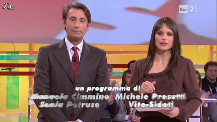 Lorena Bianchetti dans Italia Sul Due. Diffusé à la télévision le 29/11/11.