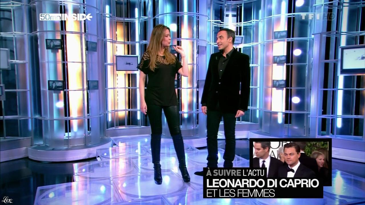 Sandrine Quétier dans 50 Minutes Inside. Diffusé à la télévision le 02/03/13.