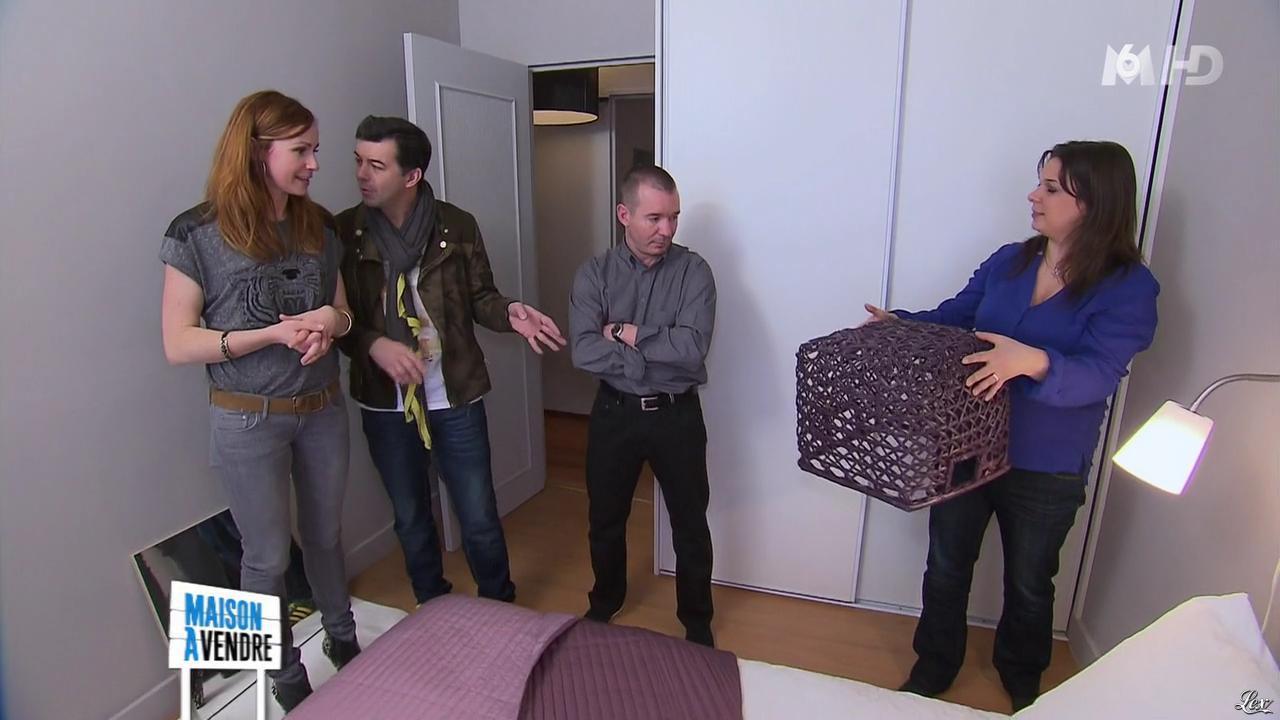 Sophie Ferjani dans Maison à Vendre. Diffusé à la télévision le 27/03/13.
