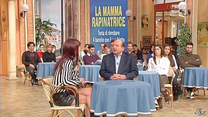 Une Inconnue dans I Fatti Vostri. Diffusé à la télévision le 31/01/13.