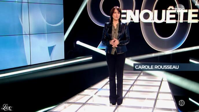 Carole Rousseau dans 90 Minutes Enquête. Diffusé à la télévision le 25/02/14.