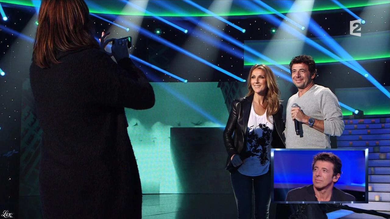 Céline Dion dans Patrick Bruel le Grand Show. Diffusé à la télévision le 26/10/13.