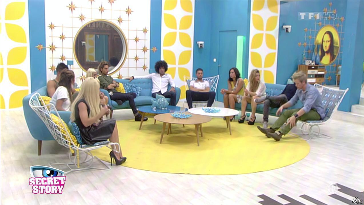 Florine dans Secret Story. Diffusé à la télévision le 26/07/13.