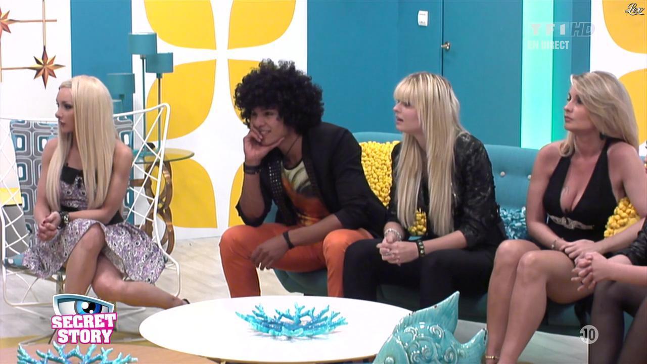 Florine et Sonja dans Secret Story. Diffusé à la télévision le 05/07/13.