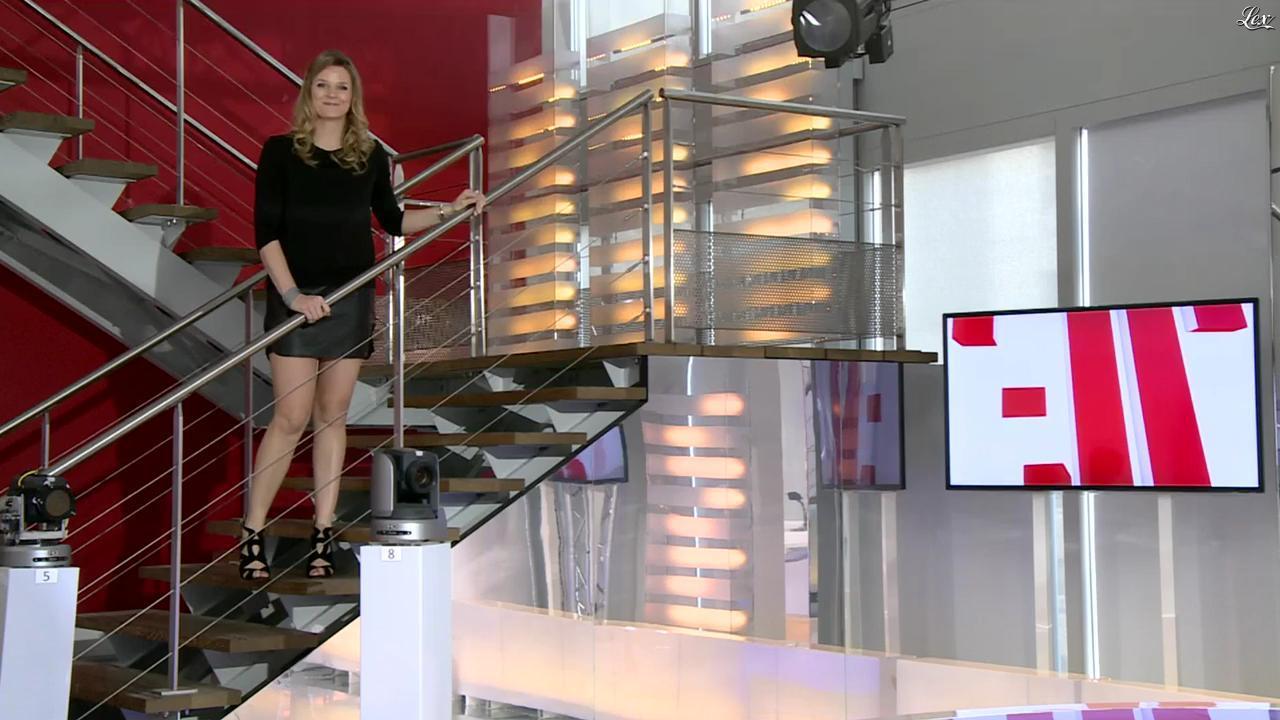 France Pierron dans Menu Sport. Diffusé à la télévision le 19/02/14.