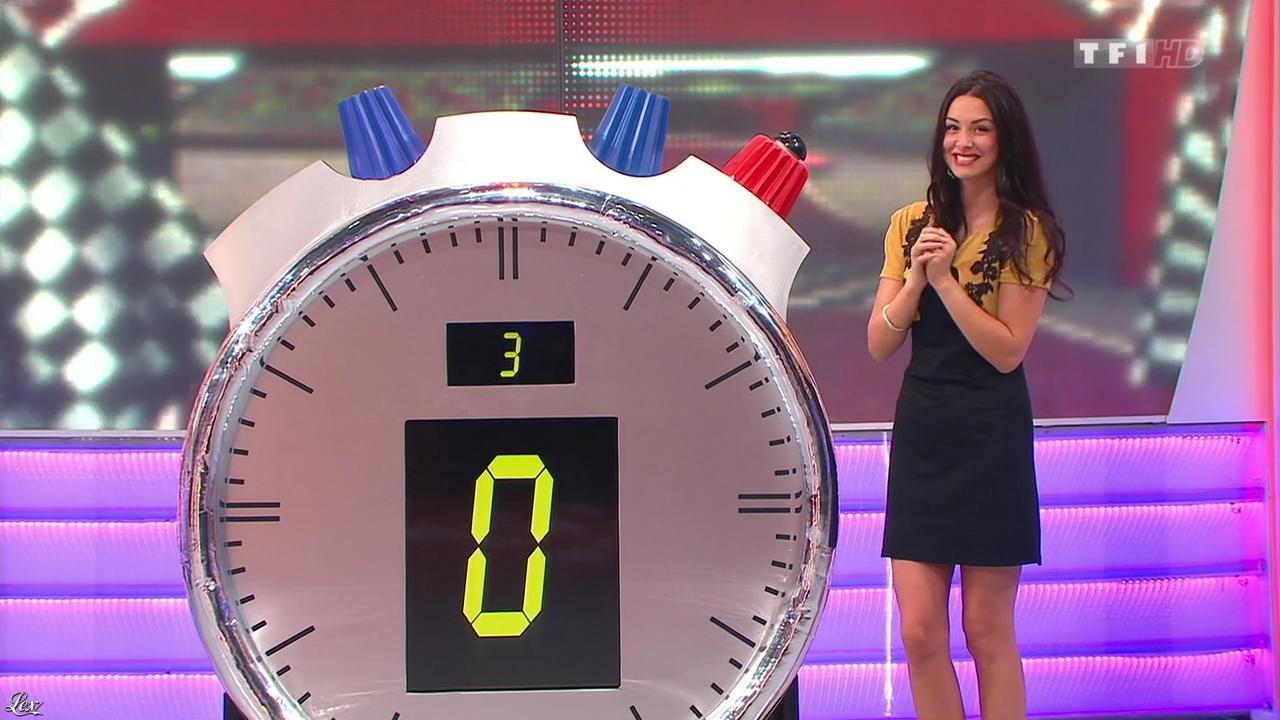 Fanny Veyrac dans le Juste Prix. Diffusé à la télévision le 28/11/13.
