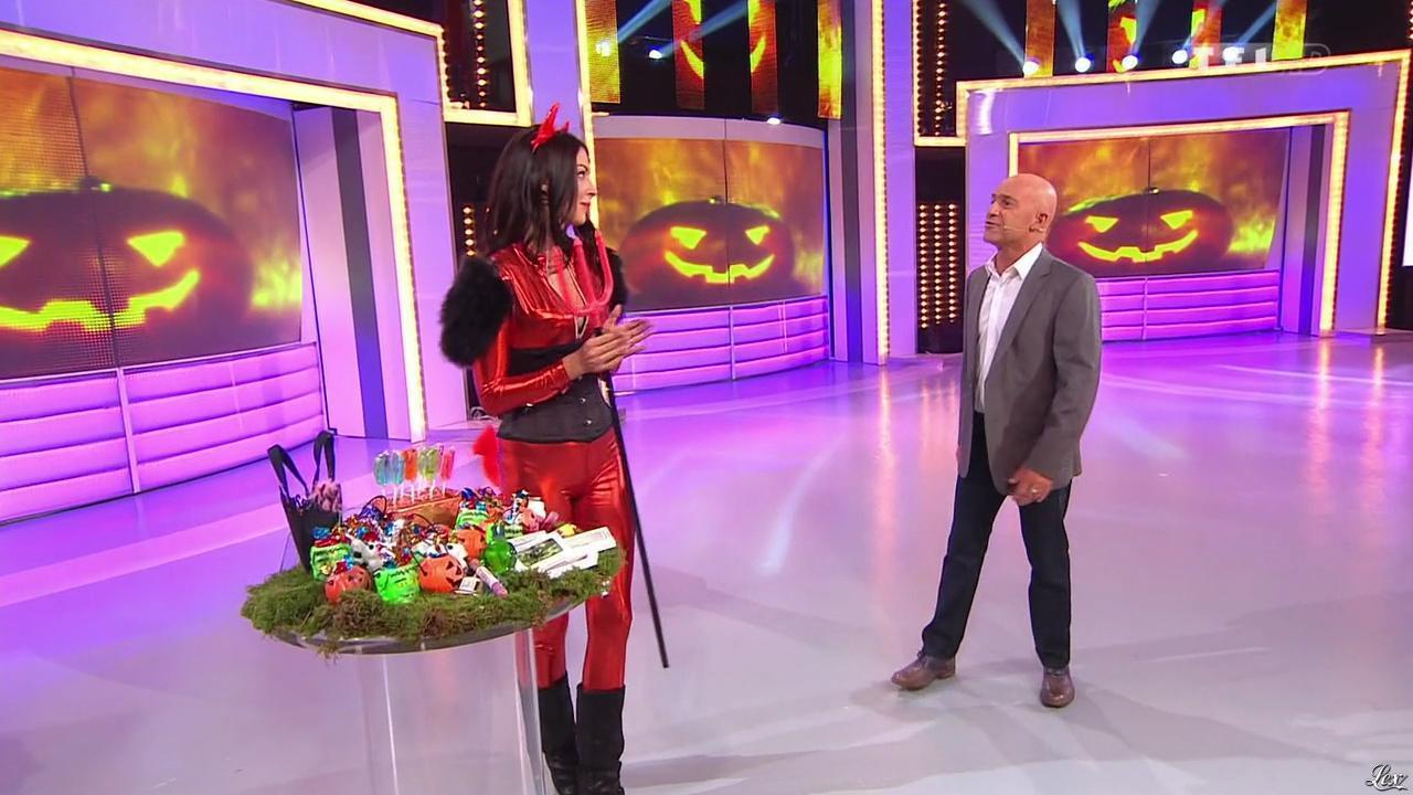 Fanny Veyrac dans le Juste Prix. Diffusé à la télévision le 31/10/13.