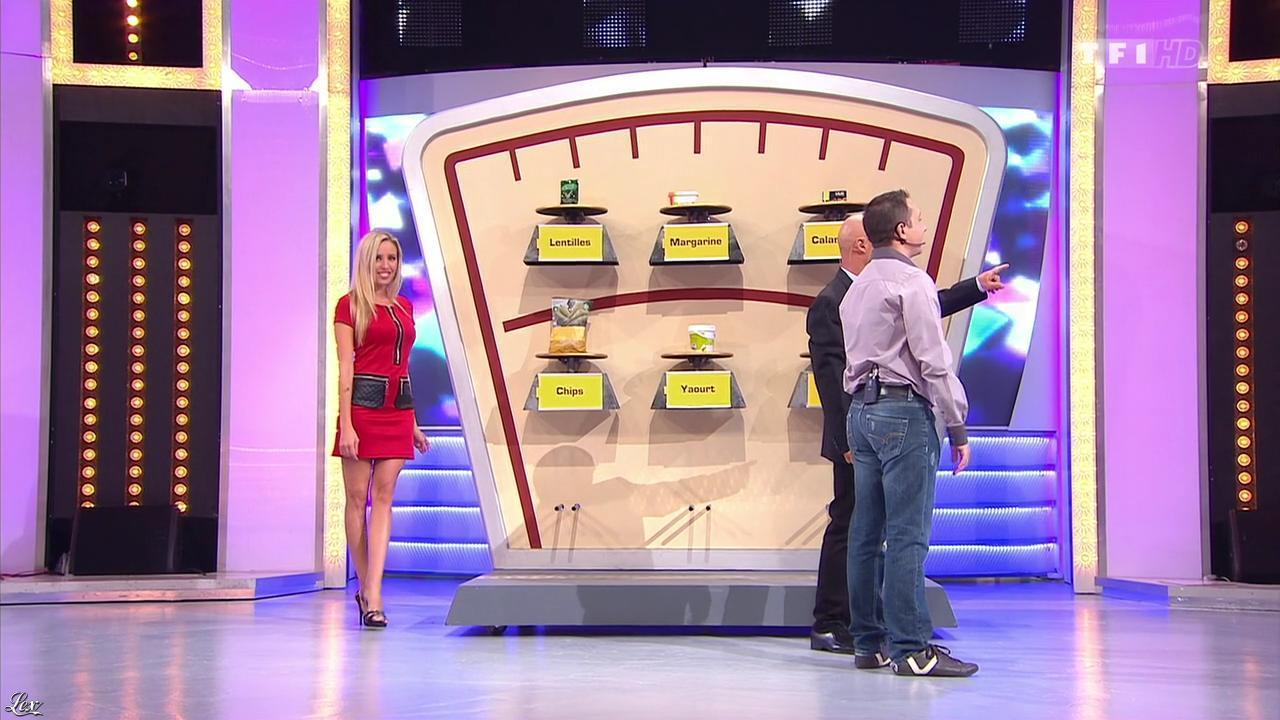 Nadia Aydanne dans le Juste Prix. Diffusé à la télévision le 28/11/13.