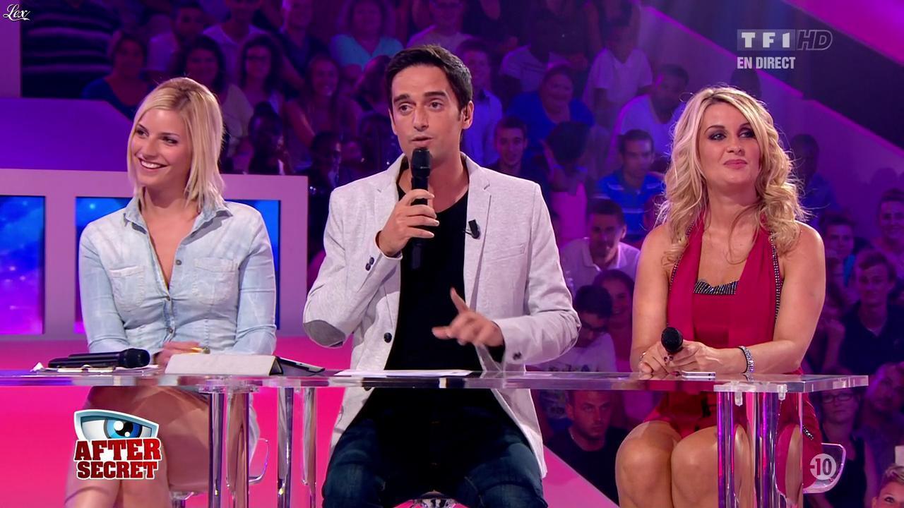 Sonja et Nadege Lacroix dans Secret Story. Diffusé à la télévision le 26/07/13.