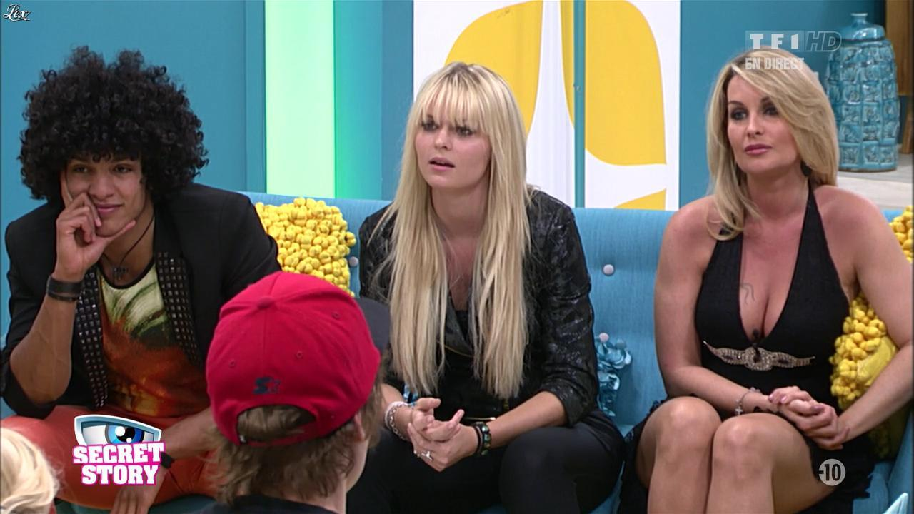 Sonja dans Secret Story. Diffusé à la télévision le 05/07/13.