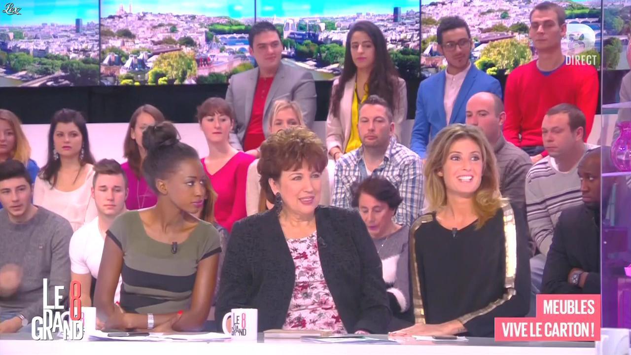 Caroline Ithurbide dans le Grand 8. Diffusé à la télévision le 13/01/15.