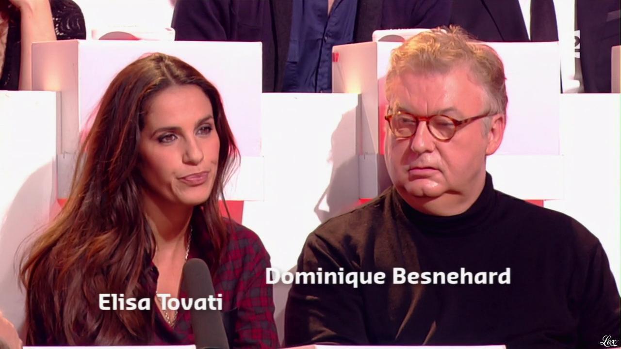 Elisa Tovati dans Que le Meilleur Gagne. Diffusé à la télévision le 07/02/15.
