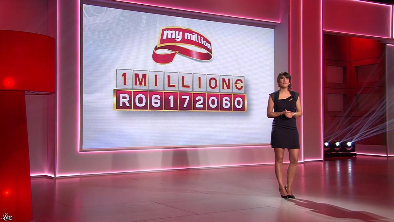 Estelle Denis dans My Million. Diffusé à la télévision le 06/02/15.