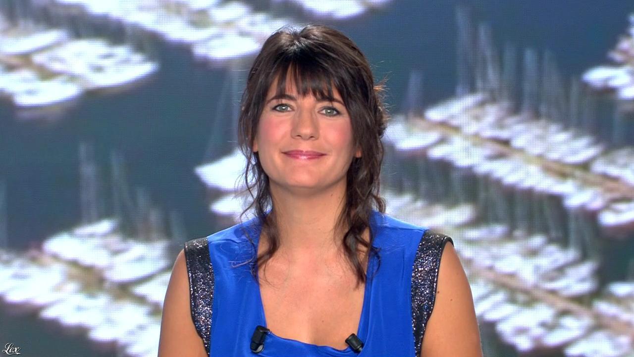 Estelle Denis lors du Tirage du Loto. Diffusé à la télévision le 07/02/15.