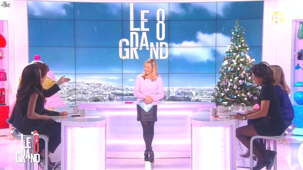 Laurence Ferrari et Audrey Pulvar dans le Grand 8. Diffusé à la télévision le 10/12/14.