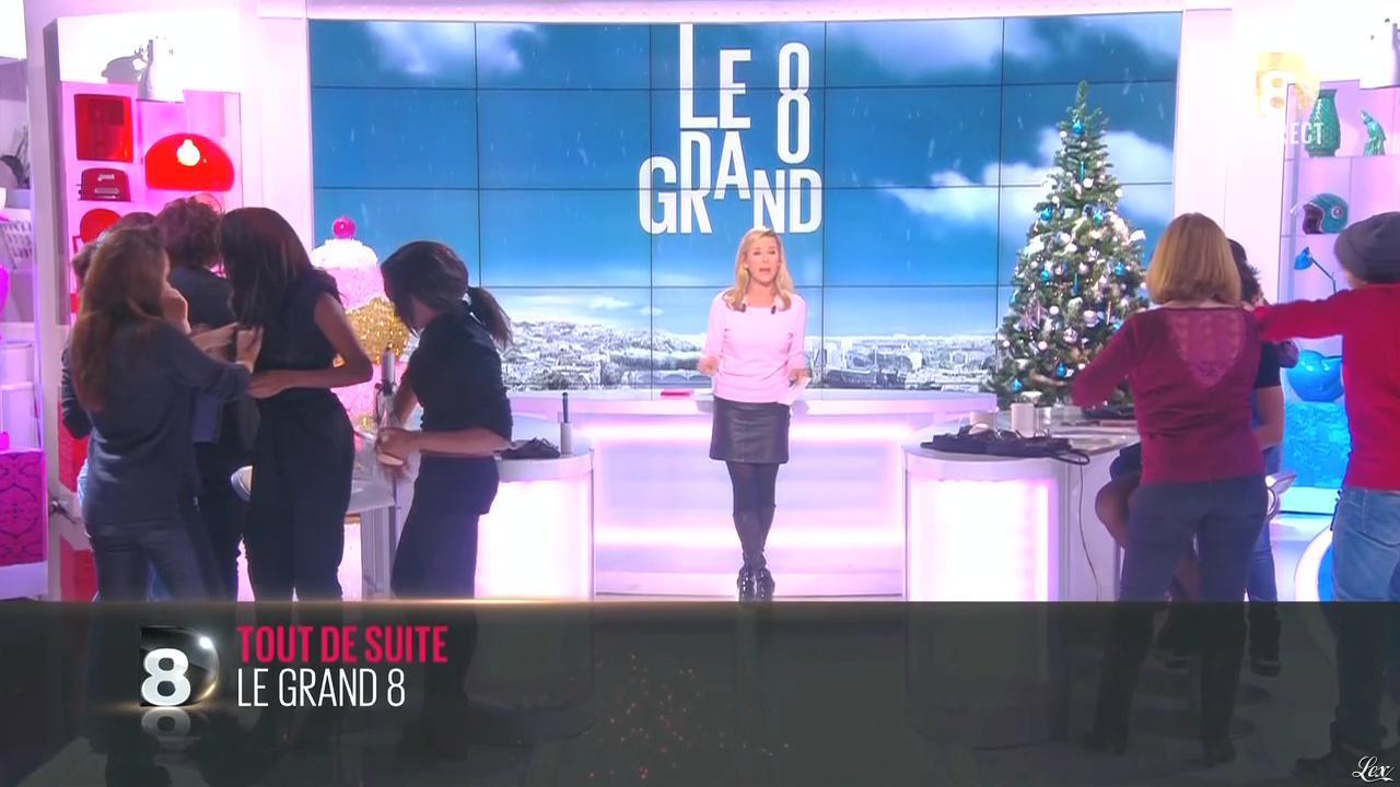 Laurence Ferrari dans le Grand 8. Diffusé à la télévision le 10/12/14.