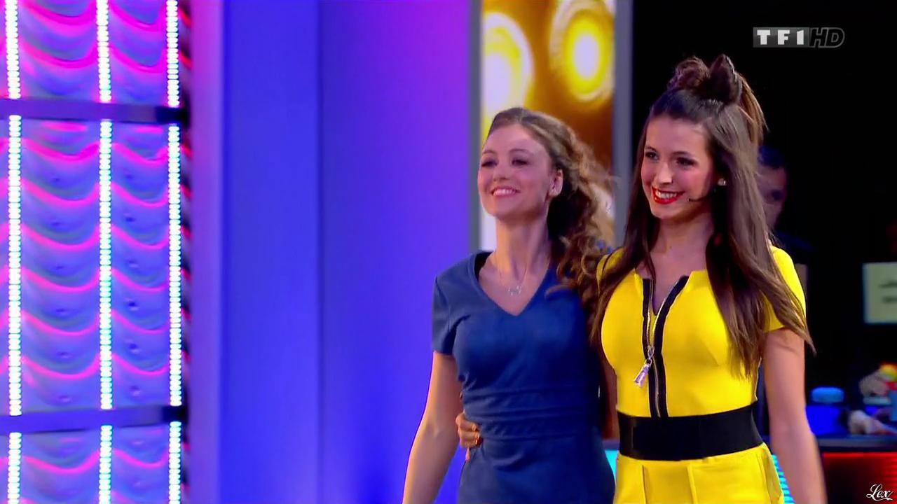 Les Gafettes, Alice Llenas et Cyrielle Joelle dans le Juste Prix. Diffusé à la télévision le 16/02/15.