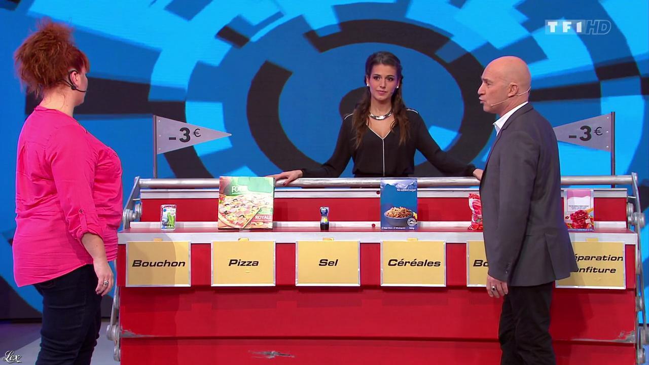 Alice Llenas dans le Juste Prix. Diffusé à la télévision le 02/02/15.