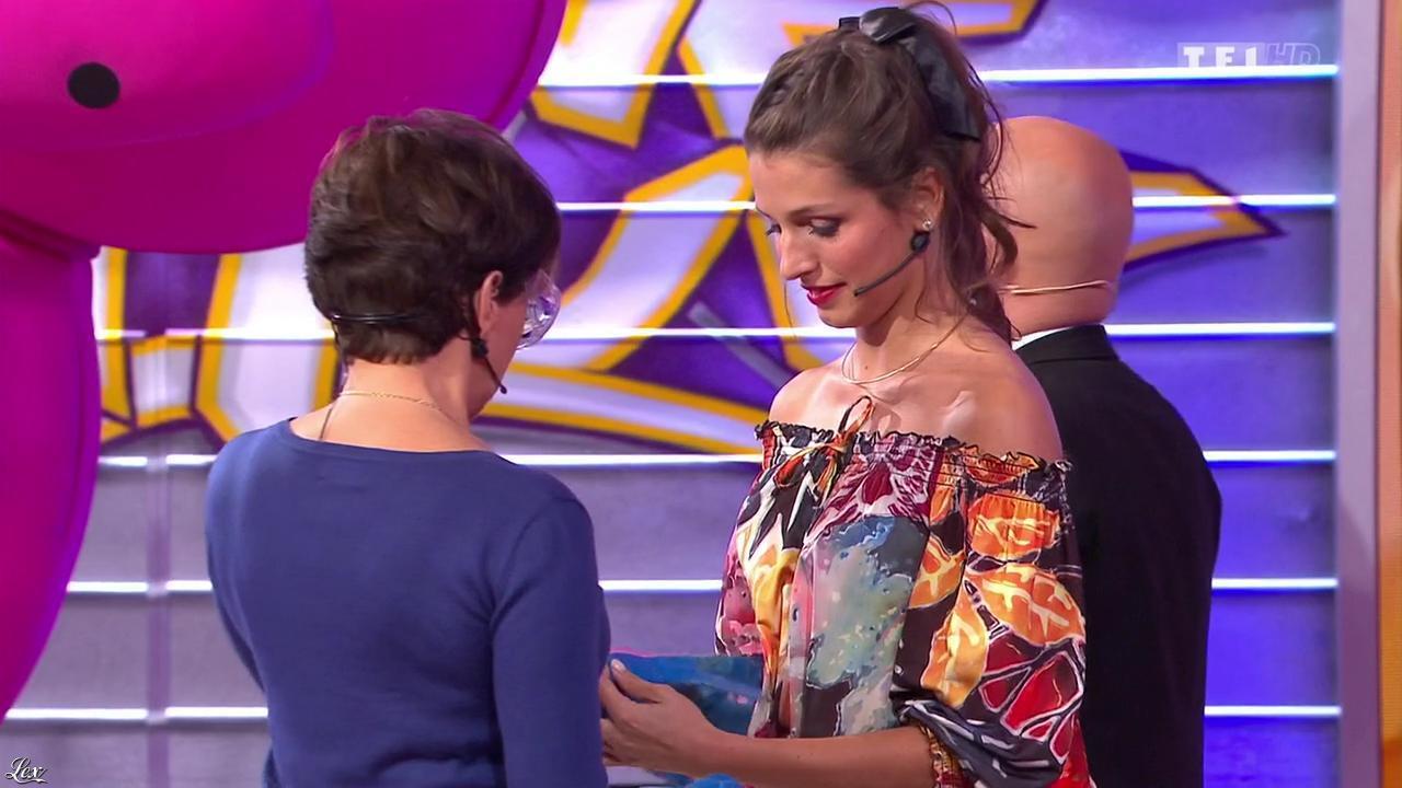 Alice Llenas dans le Juste Prix. Diffusé à la télévision le 10/02/15.