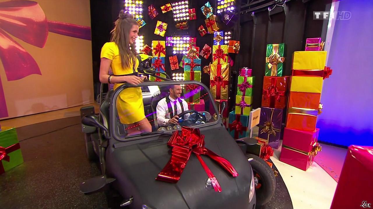 Alice Llenas dans le Juste Prix. Diffusé à la télévision le 16/02/15.