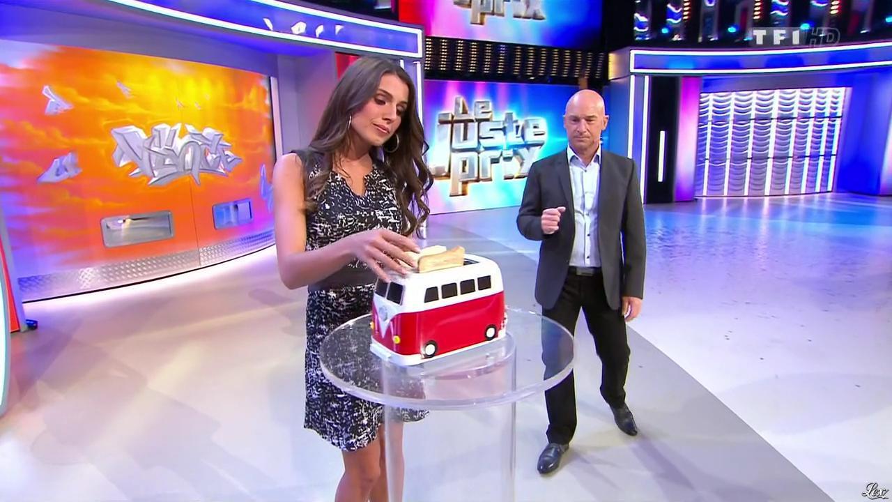 Alice Llenas dans le Juste Prix. Diffusé à la télévision le 23/01/15.