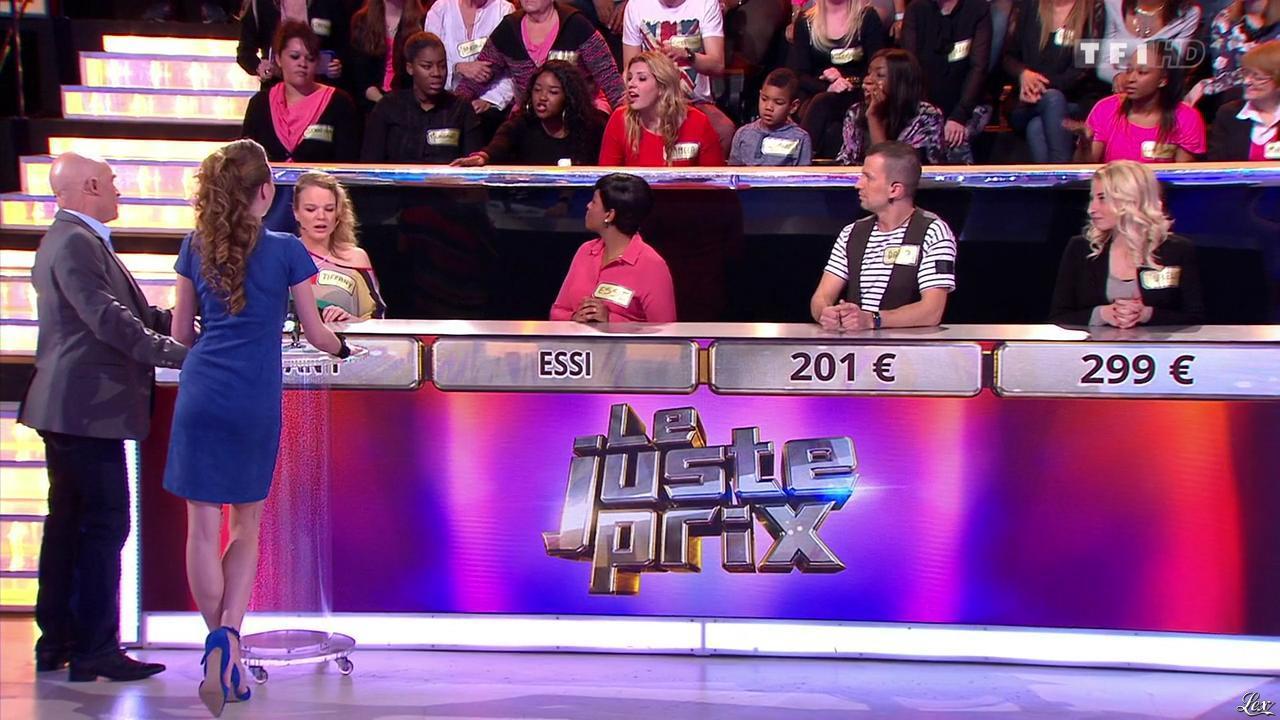 Cyrielle Joelle dans le Juste Prix. Diffusé à la télévision le 16/02/15.