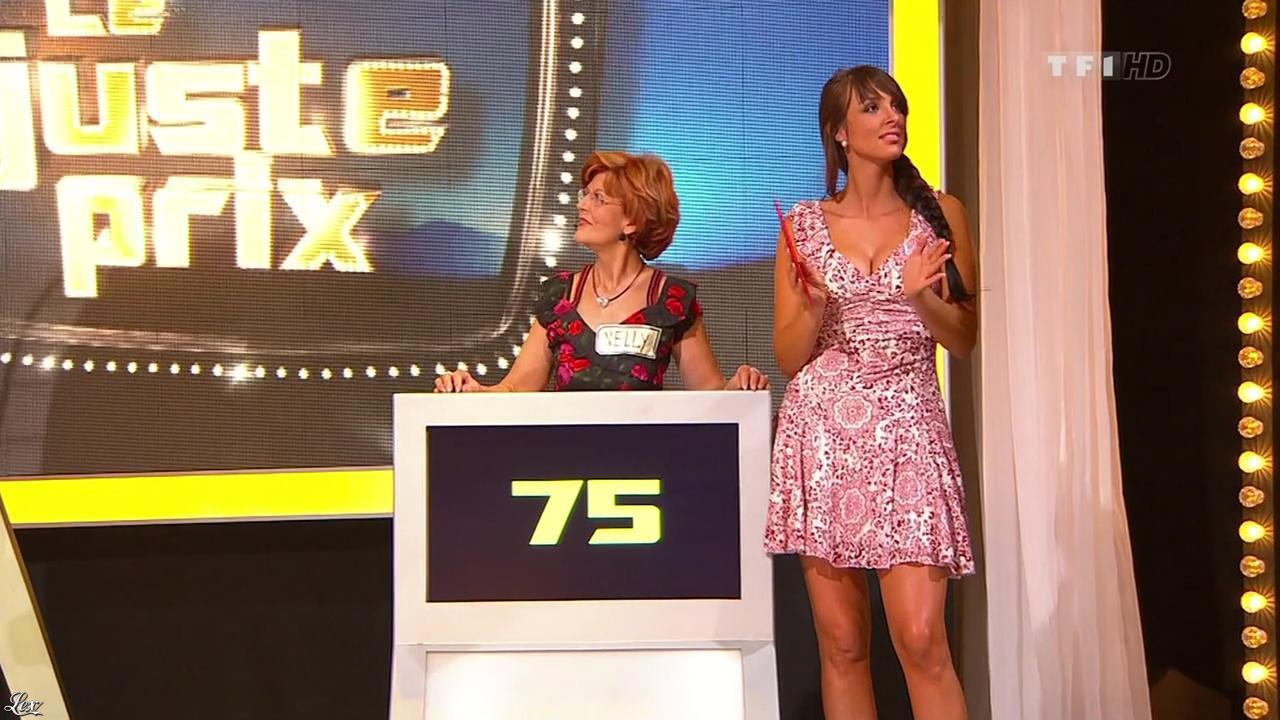 Fanny Veyrac dans le Juste Prix. Diffusé à la télévision le 20/10/10.