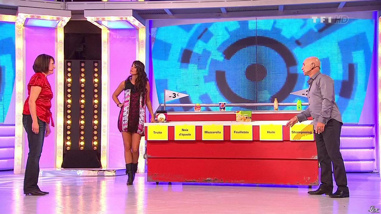 Fanny Veyrac dans le Juste Prix. Diffusé à la télévision le 21/10/10.