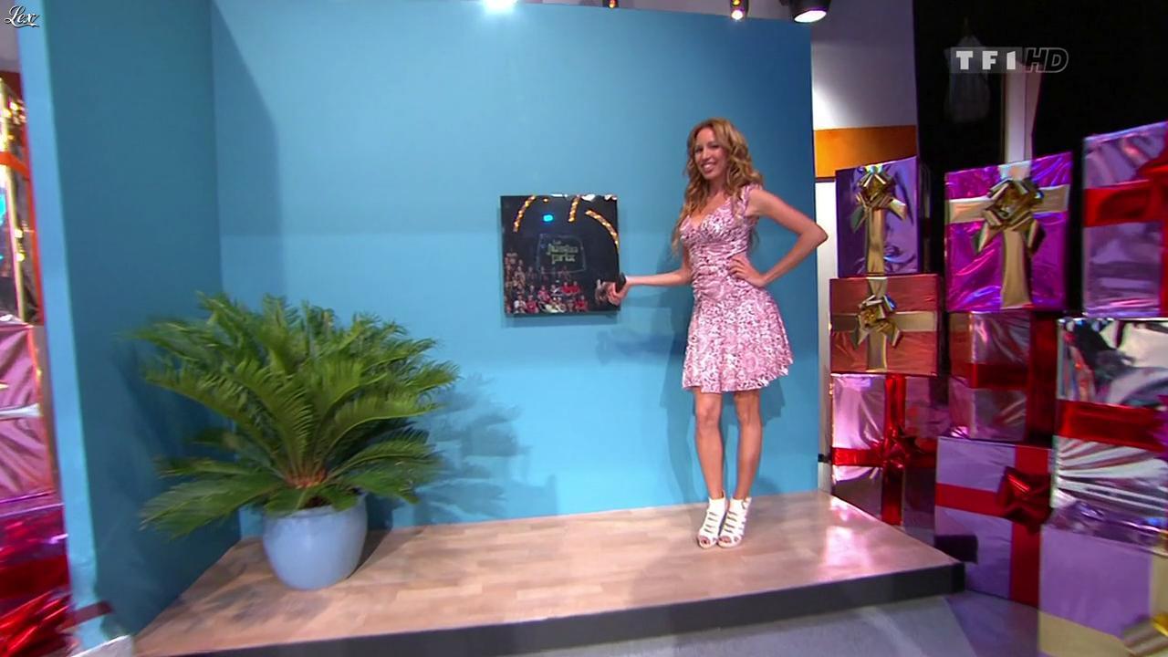 Nadia Aydanne dans le Juste Prix. Diffusé à la télévision le 20/10/10.