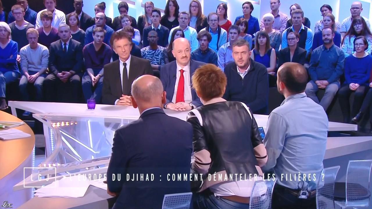Natacha Polony dans le Grand Journal de Canal Plus. Diffusé à la télévision le 16/01/15.