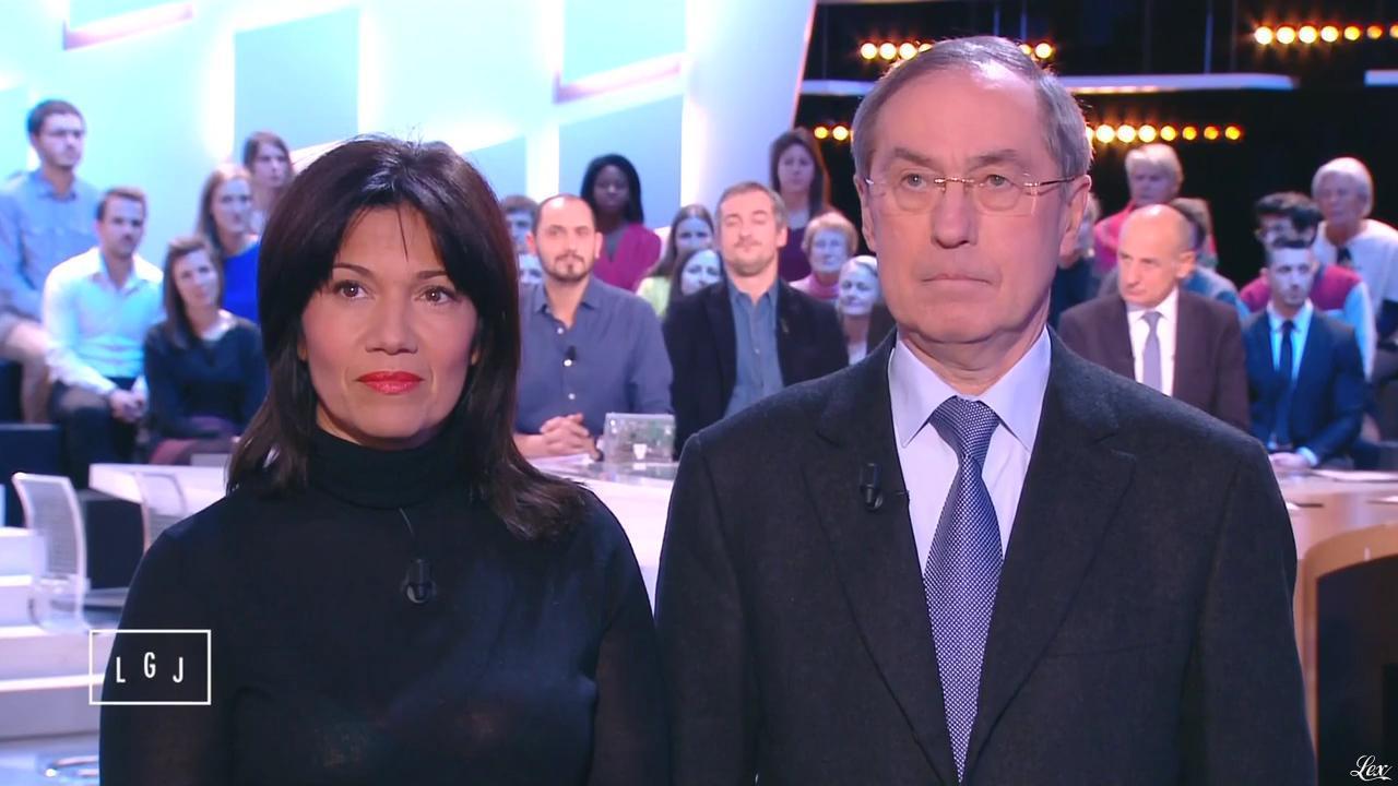 Samia Ghali dans le Grand Journal de Canal Plus. Diffusé à la télévision le 21/01/15.