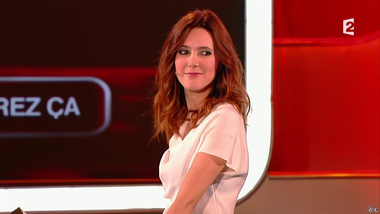 Sandra Lou dans Mot de Passe. Diffusé à la télévision le 31/01/15.