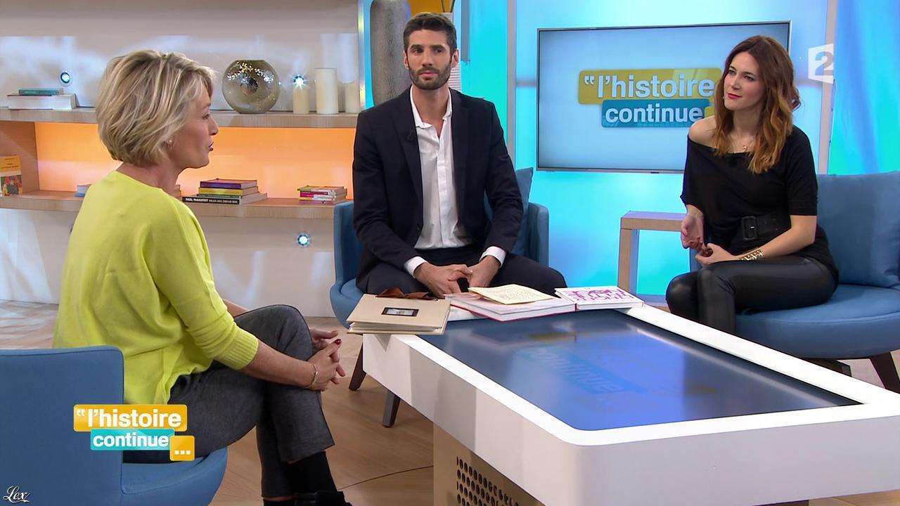 Sandra Lou dans Toute une Histoire. Diffusé à la télévision le 27/11/15.