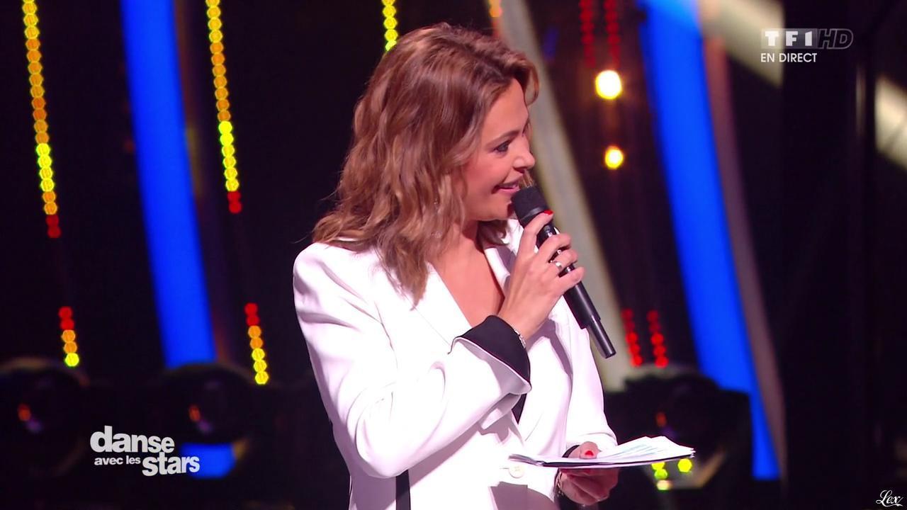 Sandrine Quétier dans Danse avec les Stars. Diffusé à la télévision le 31/10/15.