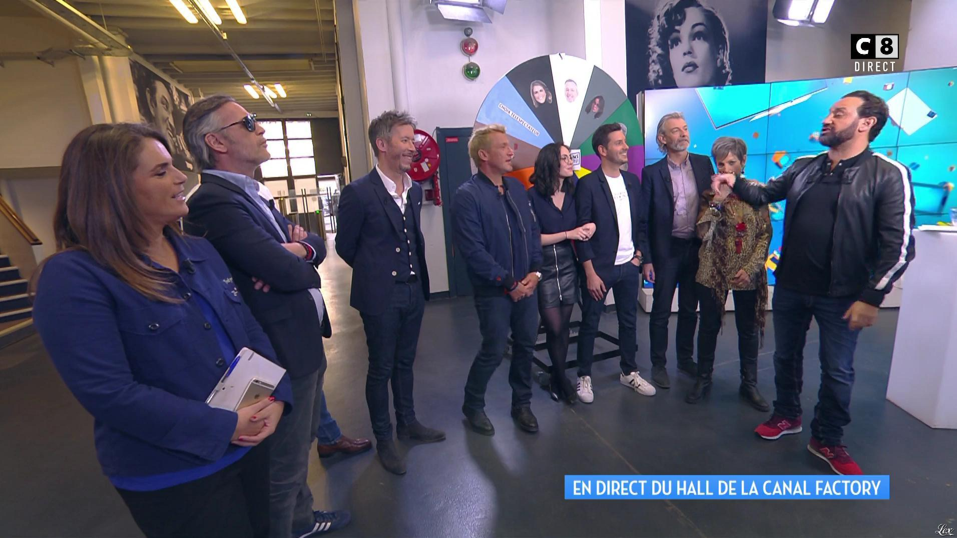 Agathe Auproux dans Touche pas à mon Poste. Diffusé à la télévision le 24/04/17.