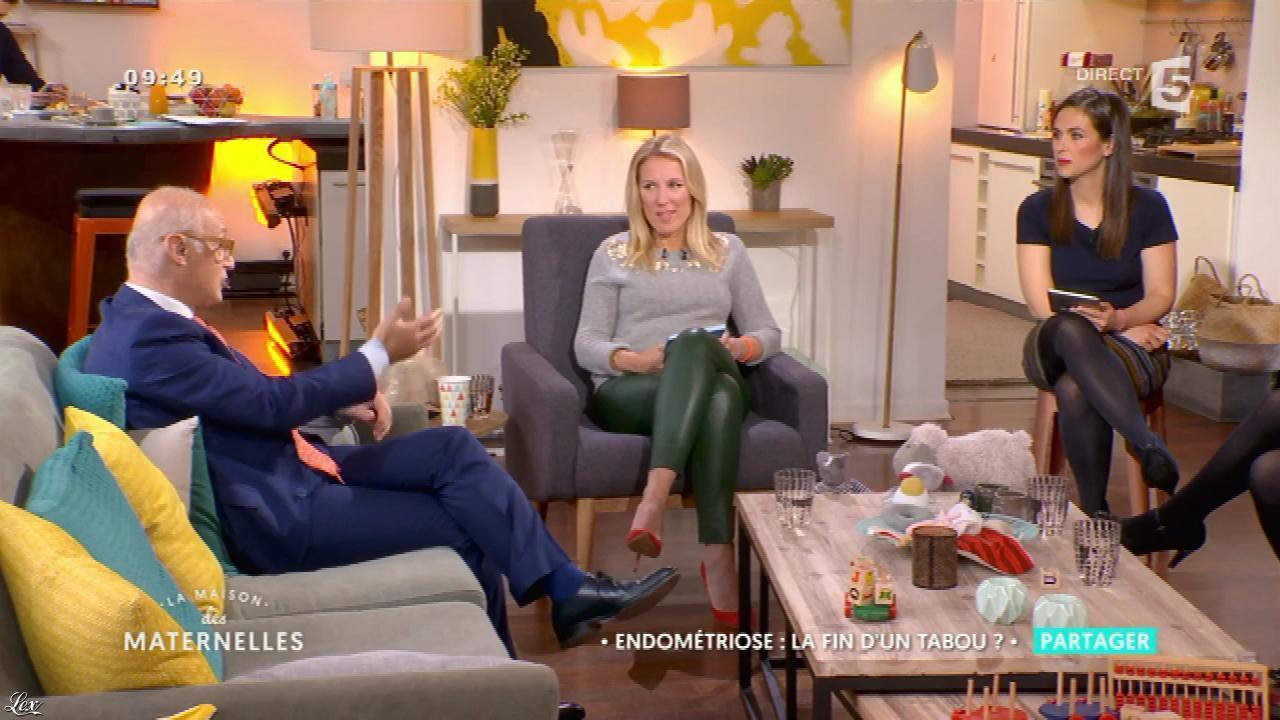 Agathe Lecaron dans la Maison des Maternelles. Diffusé à la télévision le 08/03/17.