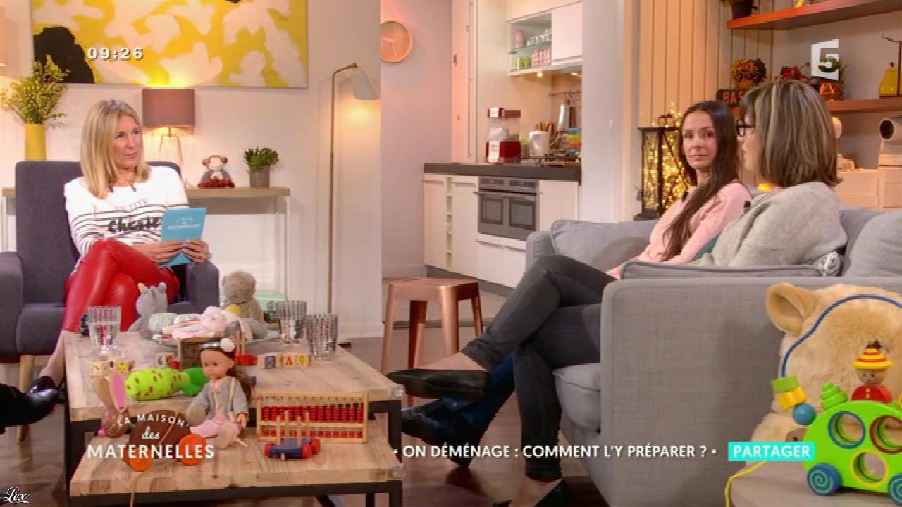 Agathe Lecaron dans la Maison des Maternelles. Diffusé à la télévision le 08/05/17.